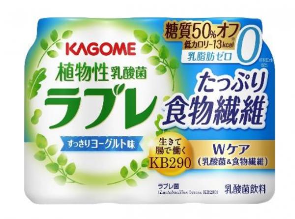 """ラブレの新製品""""たっぷり食物繊維""""登場"""