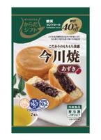 """糖質40%オフの今川焼""""糖質コントロール""""シリーズから登場"""