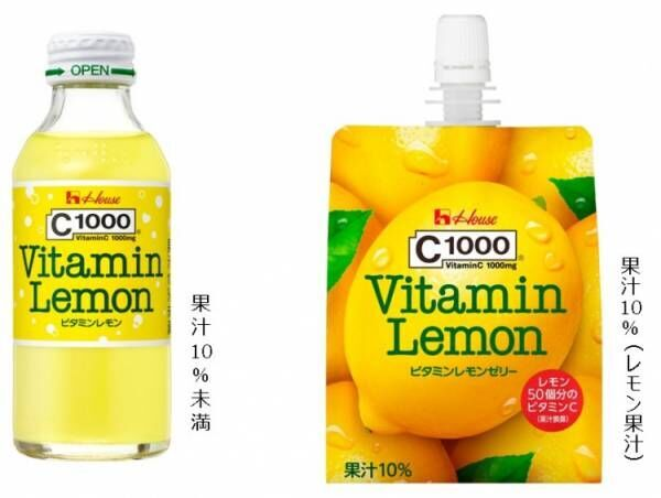 C1000ビタミンレモンシリーズがフレッシュアップして新発売!
