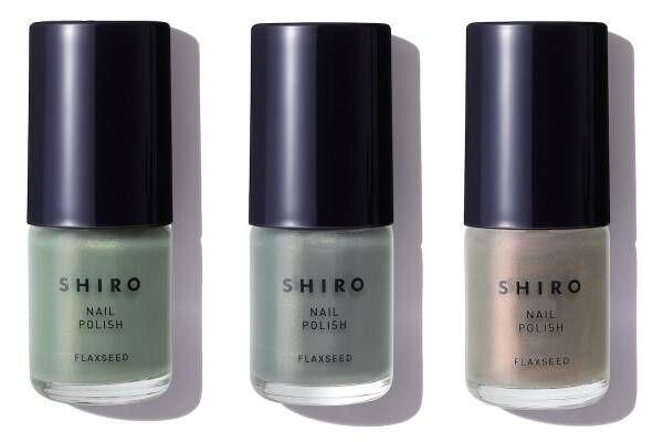 スキンケア発想で生まれたSHIROのネイル 夏限定カラーが登場!