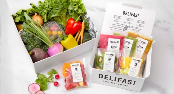 おいしく食べるファスティングを日常に『DELIFAS!』