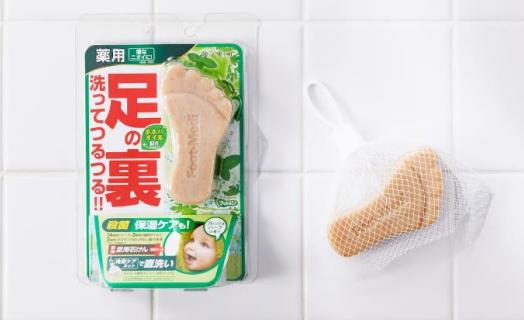 お風呂で洗うだけの簡単フットクレンジング発売