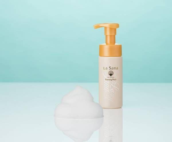 濃密な泡を叶える!アミノ酸系の洗浄成分を配合した泡洗顔