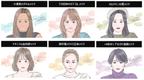 KATEが「小顔印象メイク」のトレンド変遷を公開【ブロンズ肌、囲みデカ目、血色感チーク…】