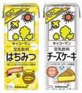 『キッコーマン 豆乳飲料』に「はちみつ」と「チーズケーキ」が仲間入り!