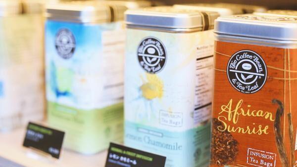 紅茶党にもうれしい、コーヒービーン&ティーリーフの品揃え