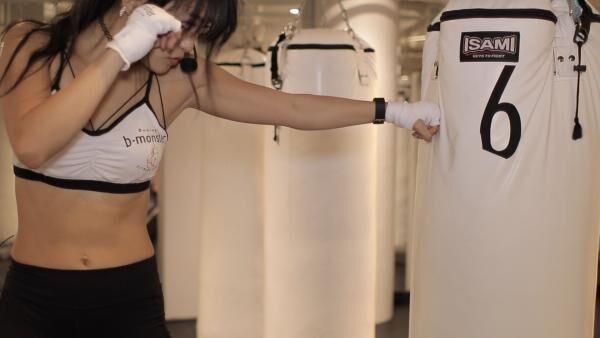 b-monster 〜ボクシングで、本格全身シェイプアップするHow to〜