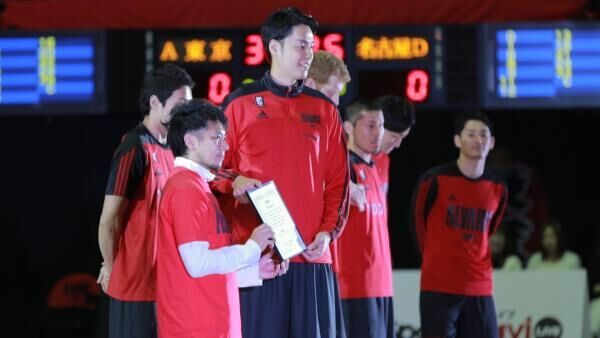 大迫力バスケBリーグが今アツい!「アルバルク東京」竹内選手が渋谷区観光大使スポーツアンバサダーに