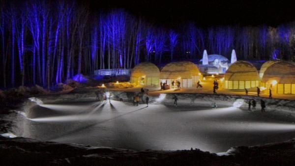 冬限定の氷の街が登場! ファンタジー気分を味わえるトマムの「アイスヴィレッジ」