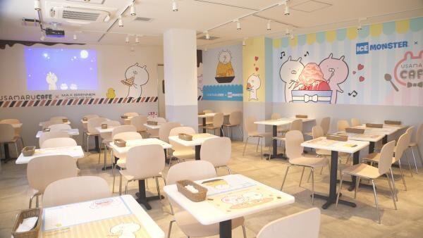 「うさまるカフェ」がスペシャルコラボで新宿に初登場! ゆるかわ空間で癒やされて♡