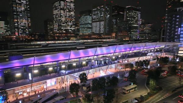 東京駅が光のキャンバスに!「東京駅グランルーフ Light on Train」