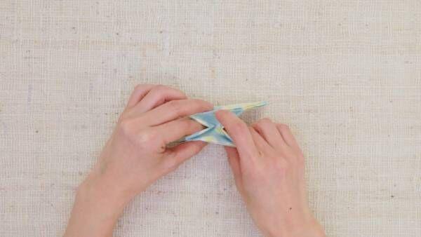 1分で作れる! 折り紙でオトナかわいい小物入れ