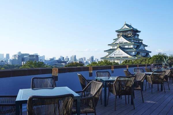 大阪城を眺めながらBBQを楽しめる!期間限定レストランがOPEN