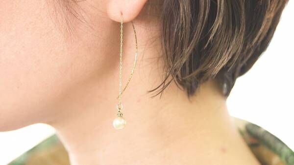 本真珠で上品さを纏う! アコヤ貝から作るピアス