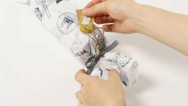 自分で出来る! 紙とリボンで簡単おしゃれなラッピングアレンジ術!