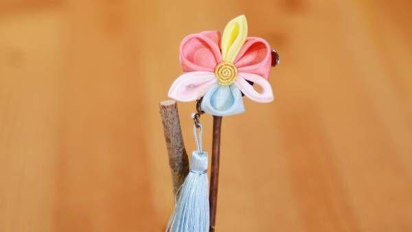 世界でひとつの可憐なお花を。京都で楽しむつまみ細工体験