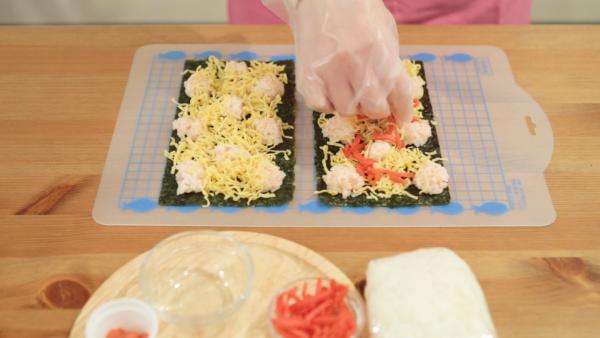 パーティーや食卓が華やかに。簡単レシピの「デコ巻き寿司」