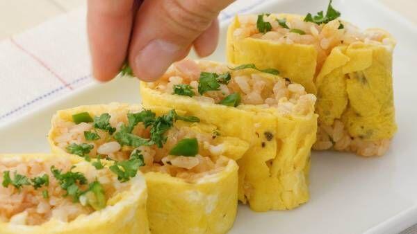 お出かけご飯の格上げレシピ! お弁当にぴったり超簡単「一口オムライス」