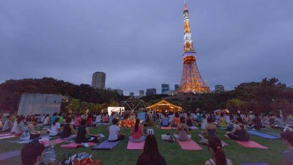 True Nature TOKYO 夜のパークヨガ編~朝から夜まで楽しめるヨガイベント~