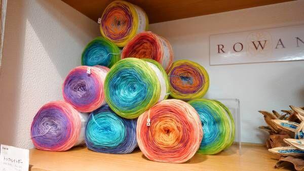 珍しい毛糸に出合える。下北沢の手編み糸専門店