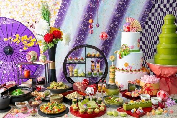 初恋の思い出を抹茶とともに感じる。東京「抹茶姫の初恋ランチブッフェ」