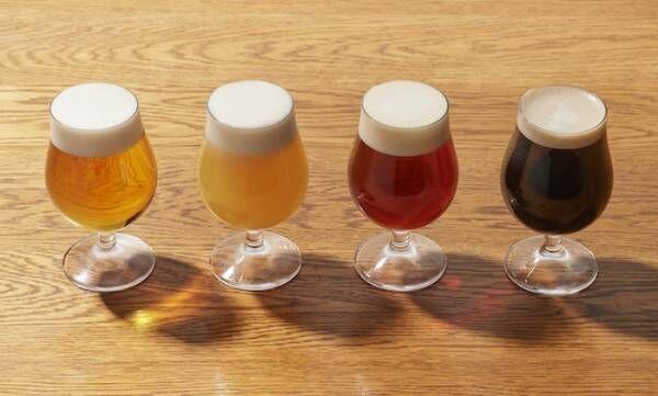 クラフトビールで夏を堪能! 東京「alsoの4種のクラフトビールを自由に注げるビアガーデン」