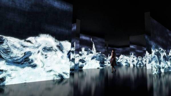 『千住 博 & チームラボ コラボレーション展「水」』開催中