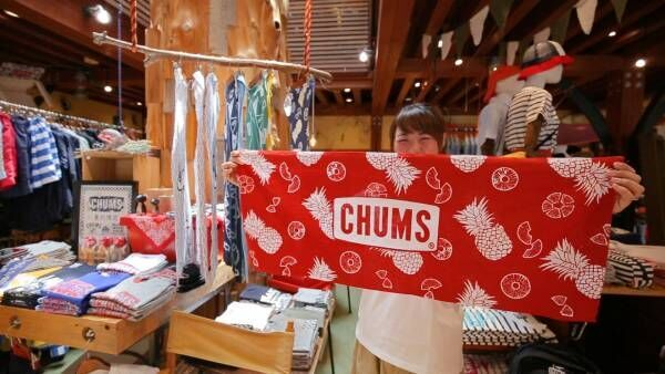 鳥のマークがトレードマーク!「CHUMS」で揃えるアウトドア便利グッズ