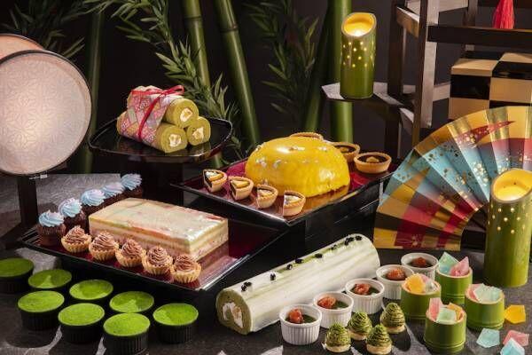 抹茶とチョコレートで織りなすかぐや姫の世界デザートブッフェ開催!