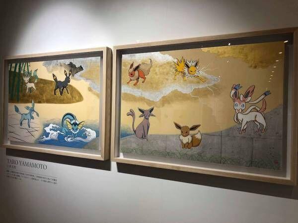 イーブイとその進化形たち9匹がカフェに!「EVs+cafe」が六本木にて開催。