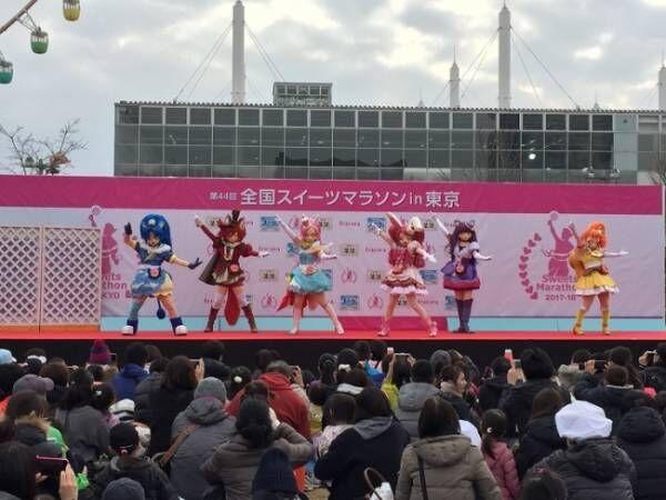"""「スイーツマラソンin東京」に""""HUGっと!プリキュア""""の登場が決定!"""