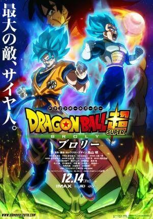 映画「ドラゴンボール超 ブロリー」2018年12月14日公開