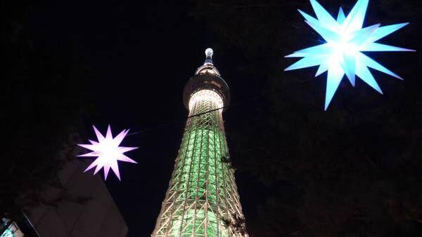 東京スカイツリータウン「ドリームクリスマス 2018」の楽しみ方