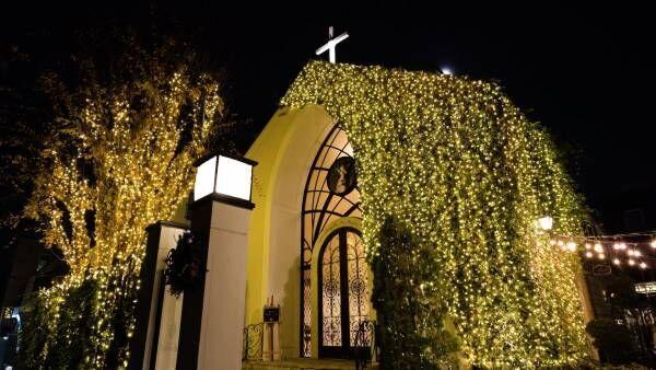 「南青山ル・アンジェ教会」のクリスマスイルミネーション2018