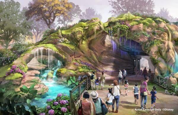 TDS新テーマポート「ファンタジースプリングス」2022年開業!