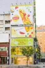 リプトン「フルーツインティー」専門店が表参道に期間限定オープン