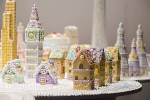 まるでお菓子の世界!渡辺おさむ「お菓子の美術館」が東京・新宿にて開催