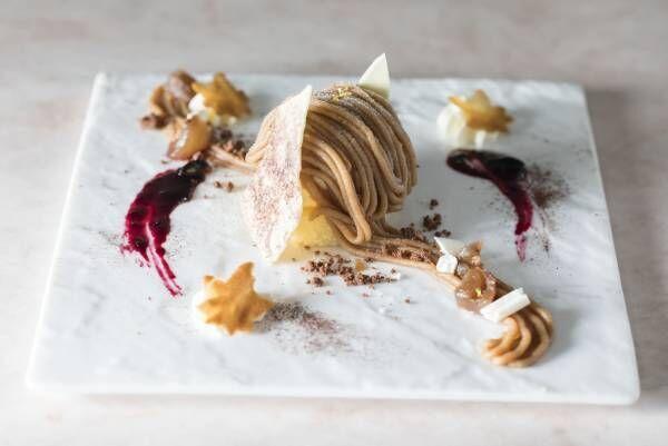 スイーツだけの夢のコース!小田急ホテルセンチュリーサザンタワーで楽しむ秋の限定デザート