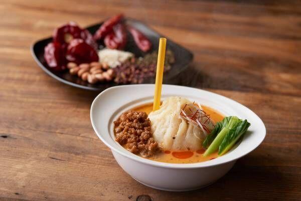 ストローで吸う肉汁中華料理「大籠包」が横浜大世界「開華楼」2号店に登場!