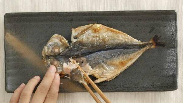 焼き魚の正しい食べ方!「アジの開き」をキレイに食べるコツ