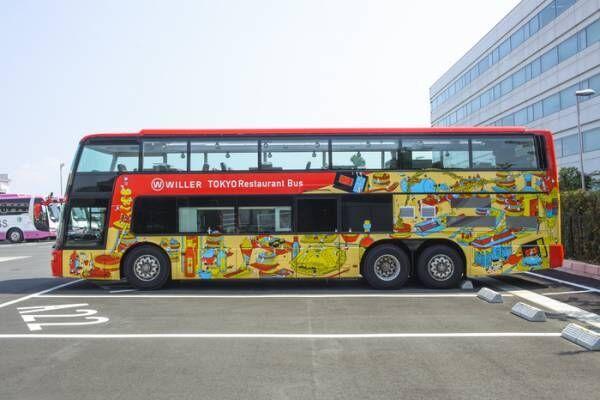 観光名所を巡りながら絶品コースを堪能!「東京レストランバス」