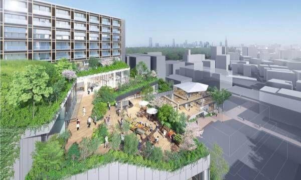 原宿駅前に新複合施設がオープン!「ウィズ ハラジュク」