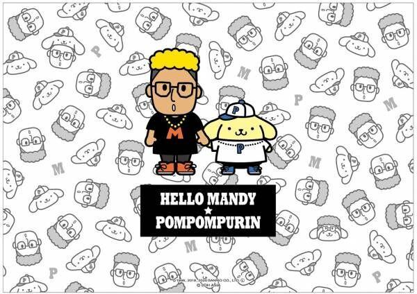関口メンディーさんとポムポムプリンのコラボメニューが『ポムポムプリンカフェ』に登場
