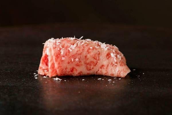 あの焼肉KINTANが東京・銀座に肉寿司専門店「牛肉寿司きんたん」としてOPEN