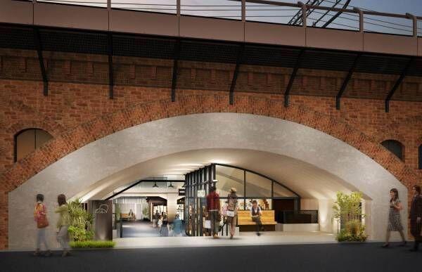 新商業施設!「日比谷 OKUROJI(オクロジ)」が新橋高架下に登場
