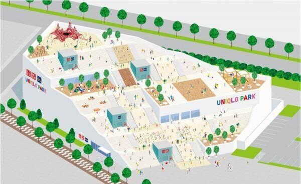 """ユニクロ&ジーユー、""""公園と一体化した""""併設大型店が横浜ベイサイドにオープン!"""