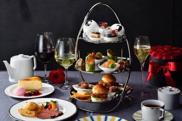 ホテル椿山荘東京では、世界三大珍味を使用した「プレミアムイブニングハイティー」が登場!