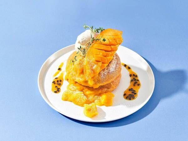 """旬の桃とマンゴーを贅沢に""""まるごと""""使用した夏のデザートフェア「まるっとまるごと」フェア開催!"""