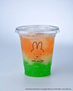 ミッフィーのドリンクスタンド「フラワーミッフィー ジュース ガーデン」が関東初上陸!