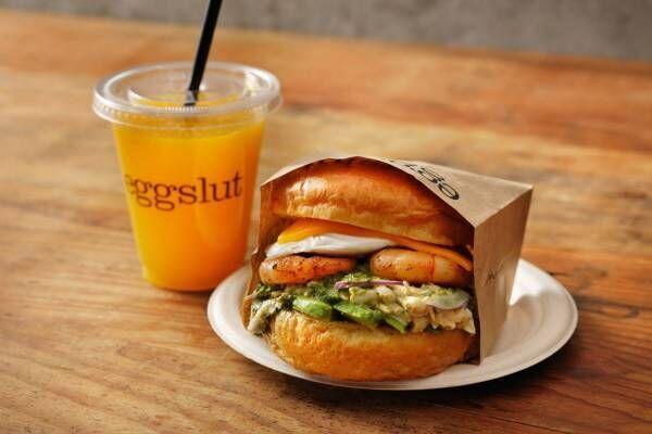 ロサンゼルス発の卵料理専門店「エッグスラット」国内2号店が、渋谷・ミヤシタパーク内にオープン!